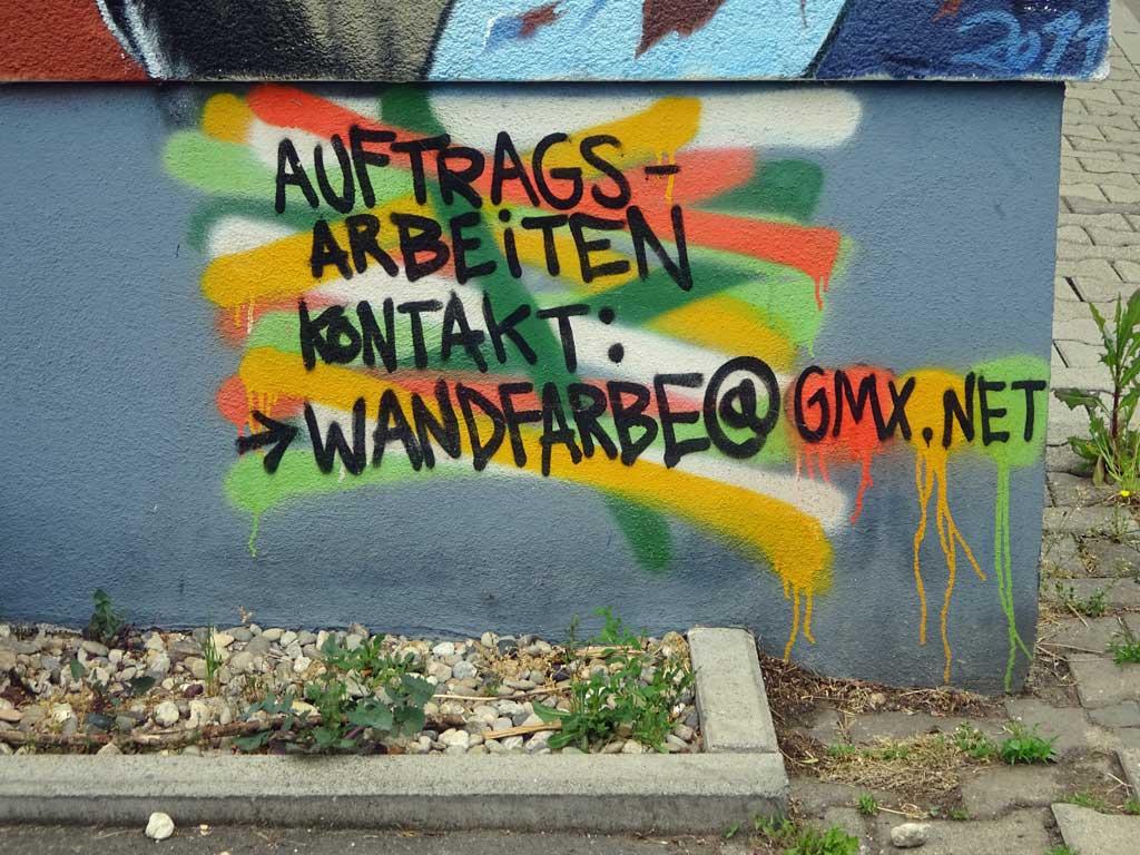 Auftragsarbeiten Wandfarbe Frankfurt