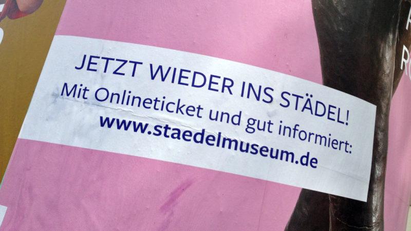 Ausstellungshäuser in Frankfurt öffnen wieder
