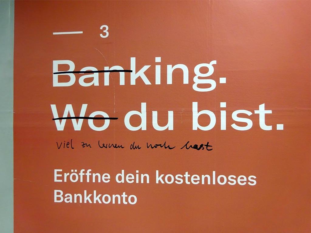 Banking wo du bist