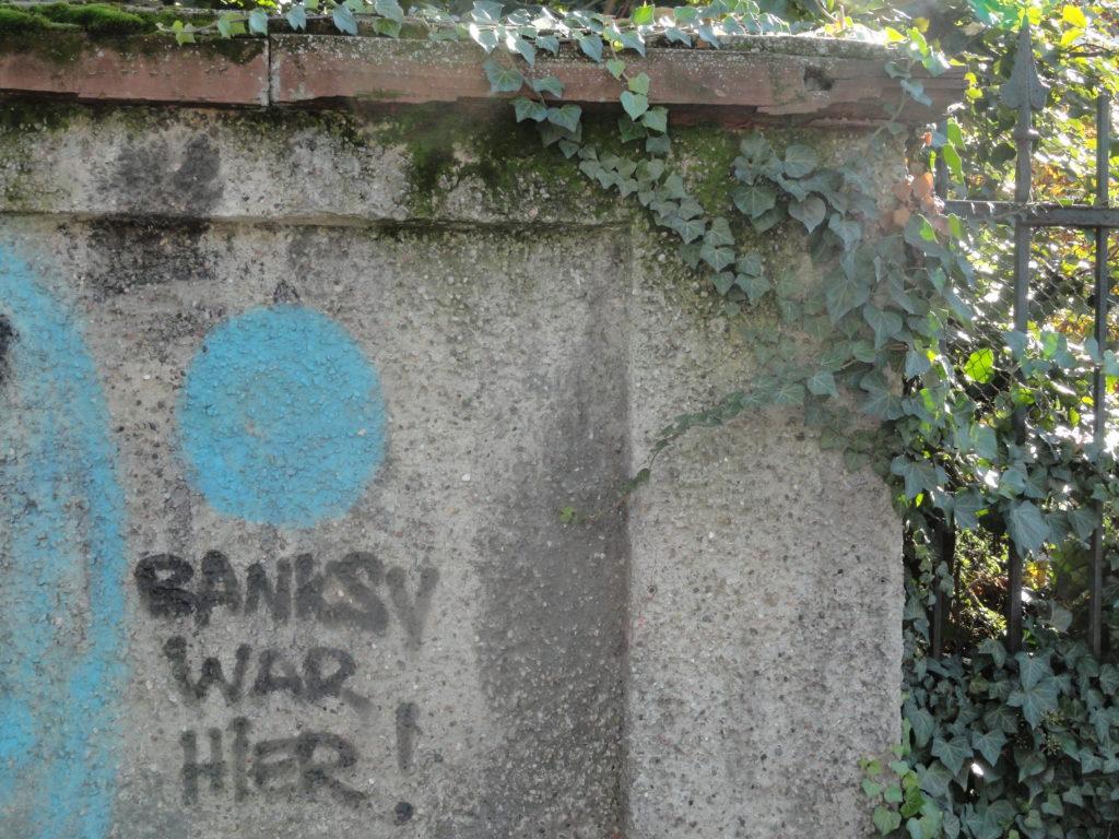 Banksy war hier