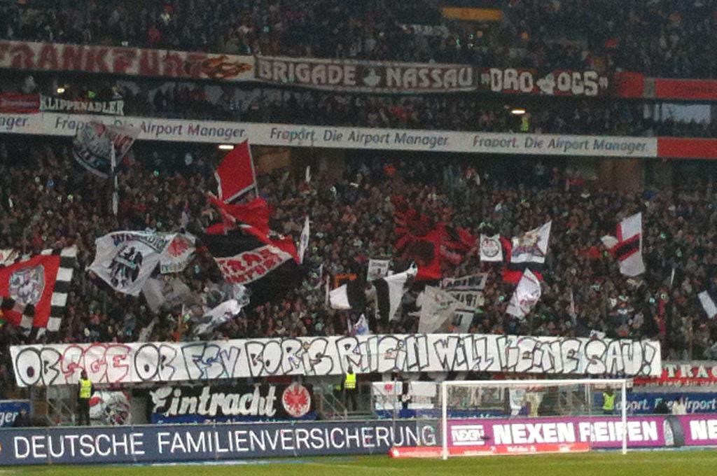 Ob SGE ob FSV Boris Rhein will keine Sau