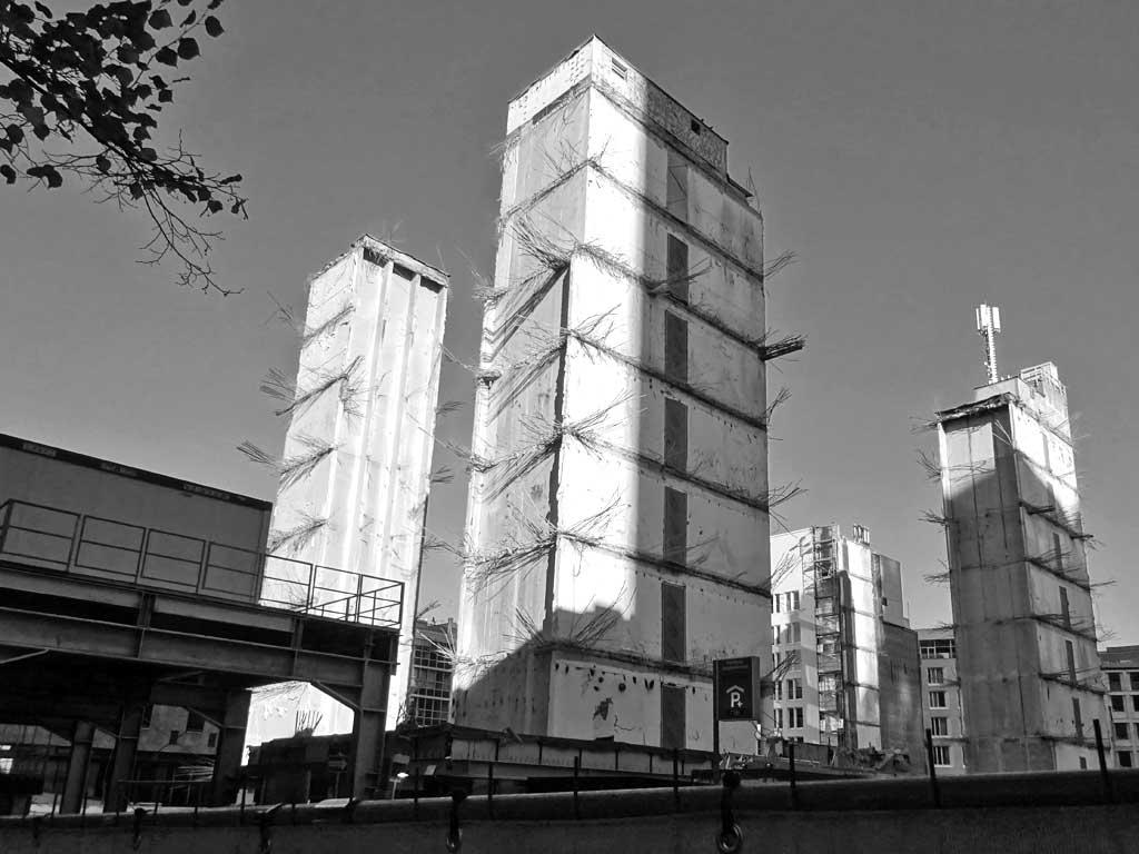 Junghof-Plaza-Baustelle in Frankfurt am Main