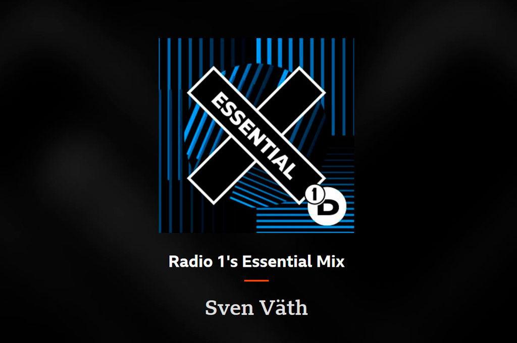 BBC Radio 1 Essential Mix - Sven Väth 2021