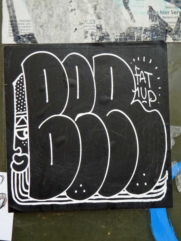 BER (FAT, 1UP) Aufkleber