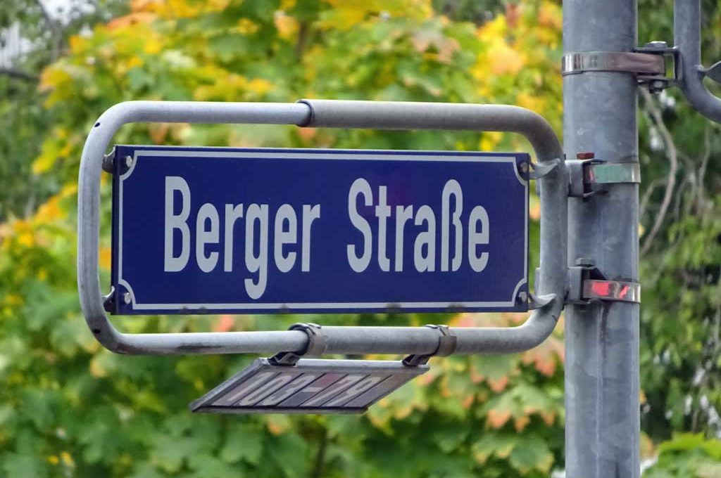 Berger Straße in Frankfurt am Main