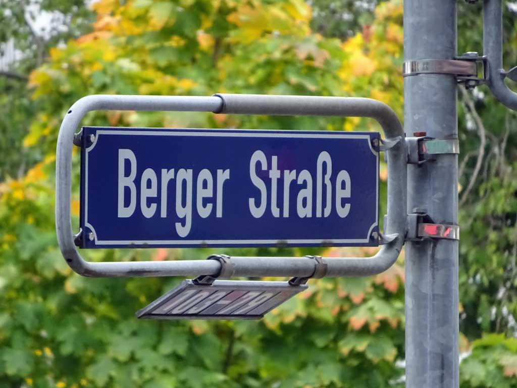 Berger Straße in Frankfurt am Main