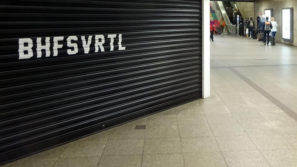 BHFSVRTL Geschäft im Hauptbahnhof