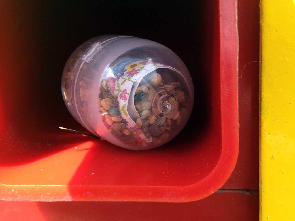 20 Cent üackung aus dem Bienenretter-Automaten