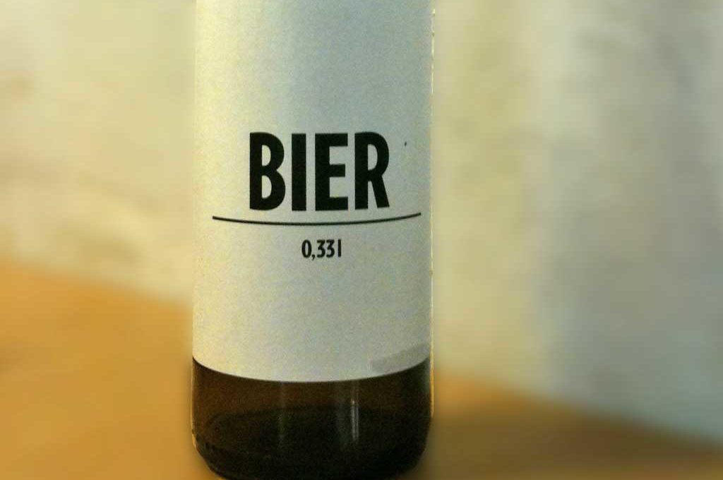 Biersorte mit dem Namen Bier