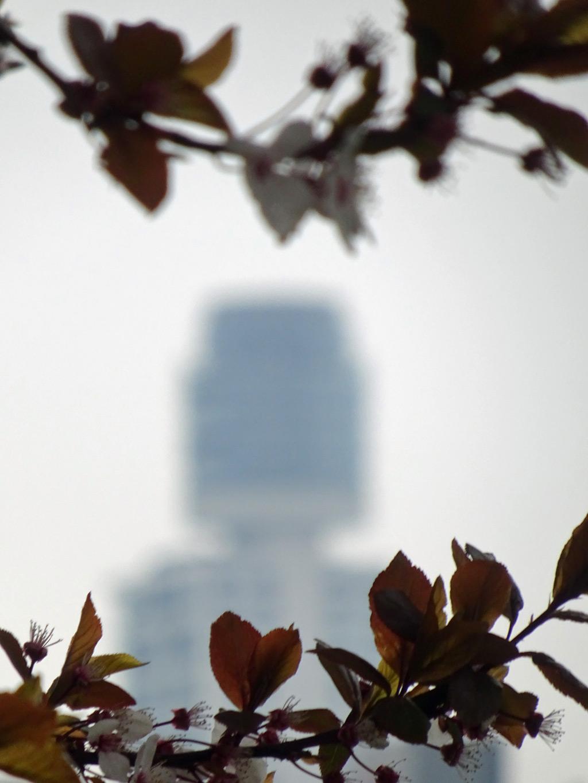 Der neue Henninger Turm in Frankfurt