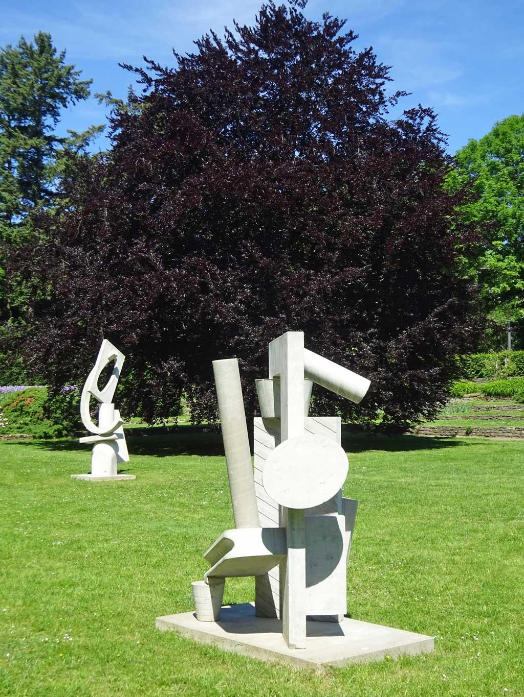 Blickachsen 12 - Skulpturen auf dem Uni-Campus in Frankfurt am Main