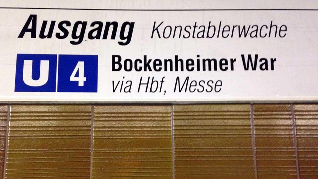 Bockenheimer War
