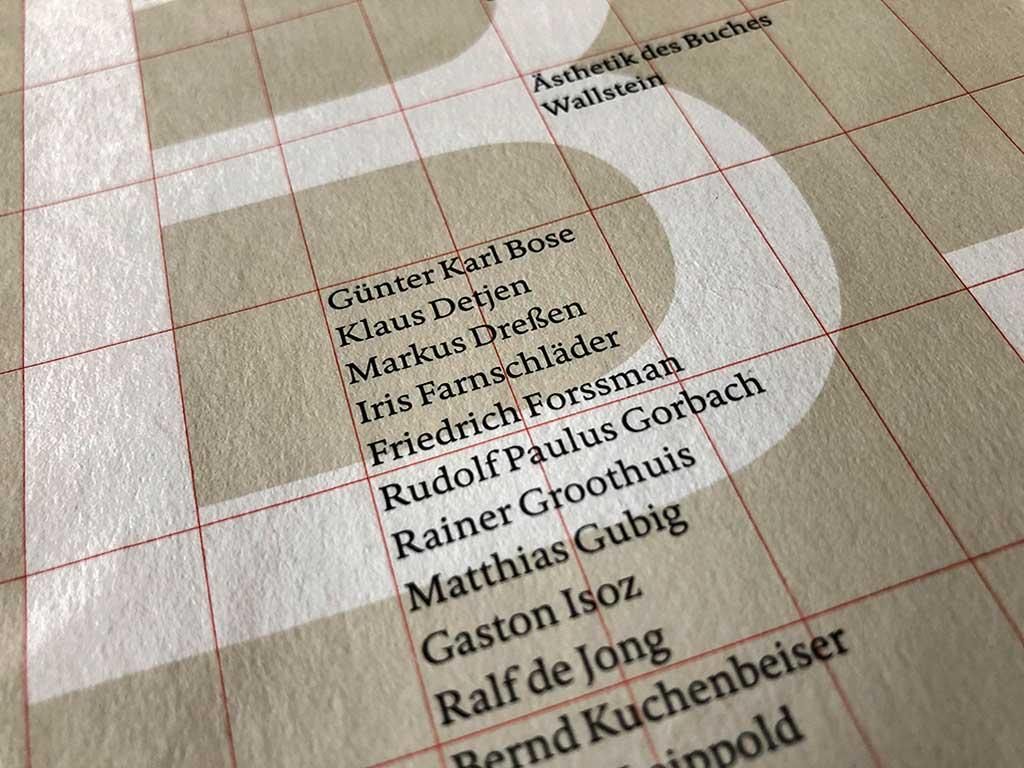 Buchgestaltung in Deutschland - Ästhetik des Buches (Bd. 14)