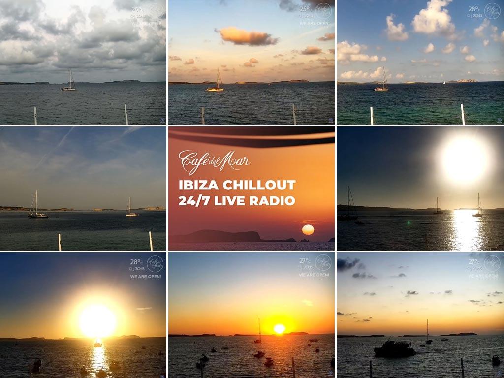 Café del Mar Ibiza Chill Radio & Webcam 24/7 (Chillout · Downtempo · Relax)