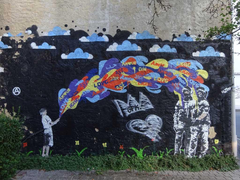 Graffitiwandbild ExZess