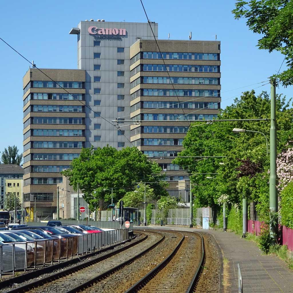 Canon Hochhaus in Frankfurt