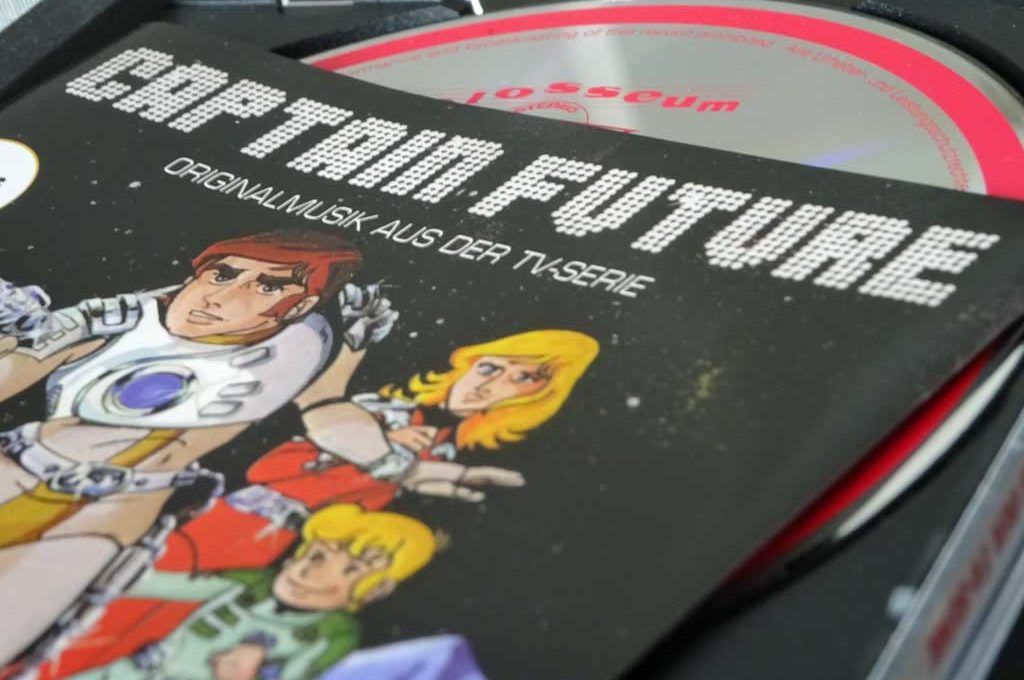Captain Future Soundtrack von Christian Bruhn