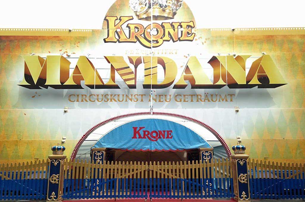 Circus Krone - Mandana in Frankfurt
