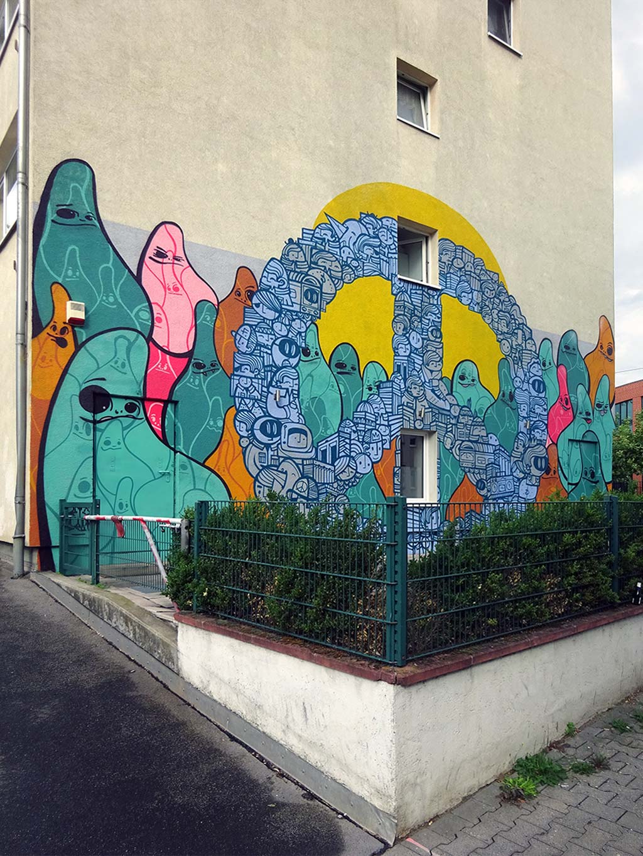 Cityghost und PYC Graffiti in Frankfurt