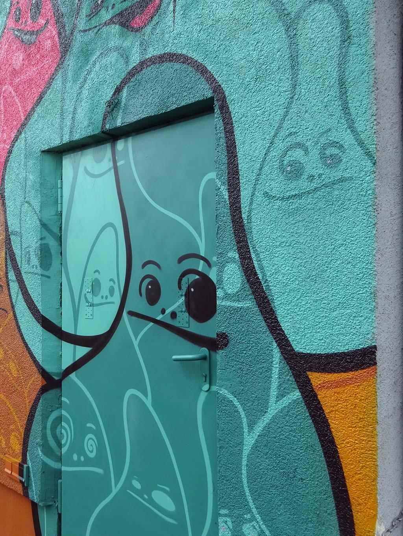 Cityghosts Graffit in Frankfurt am Main