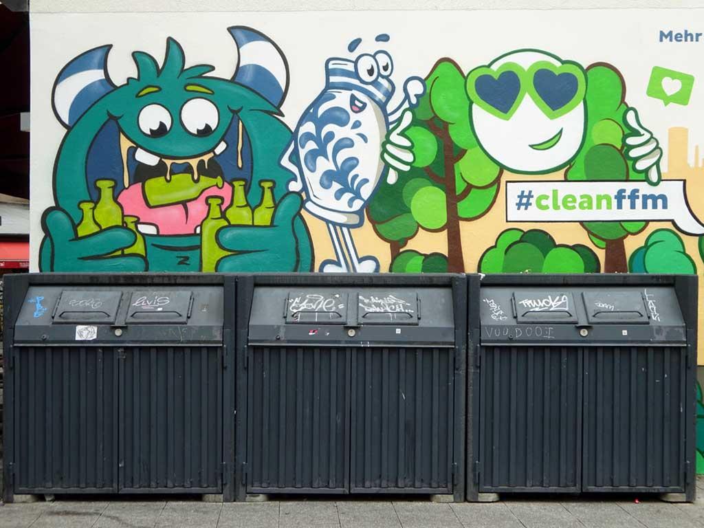 Wandkunst von Laura Dajana für cleanffm