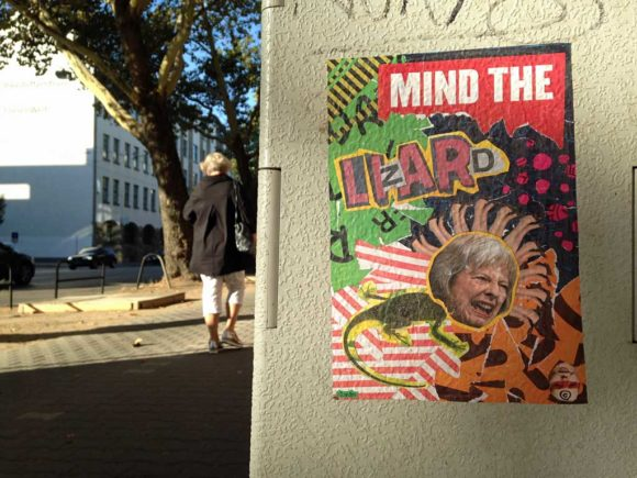 Collage Streetart in Frankfurt