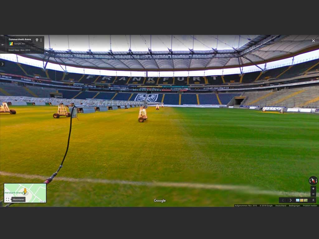 Commerzbank-Arena bei Google Street View