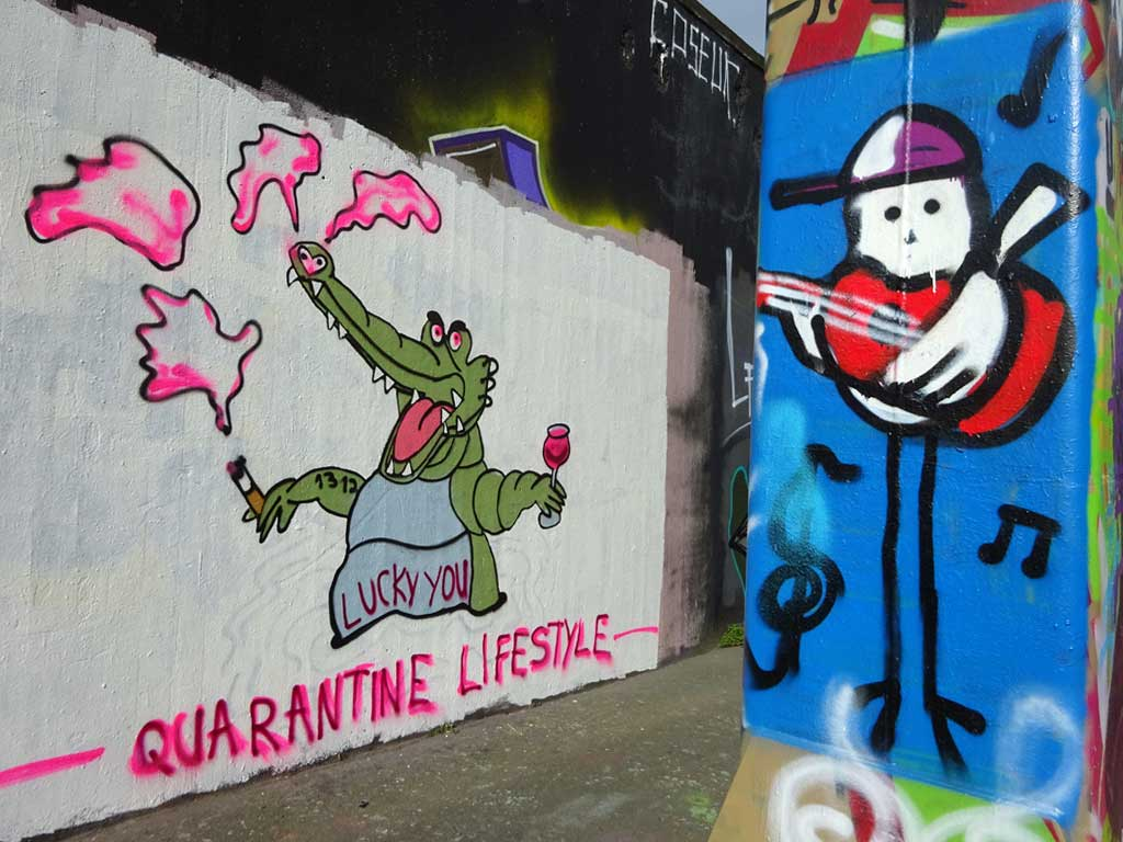 Corona in Frankfurt - Quarantine Lifestyle