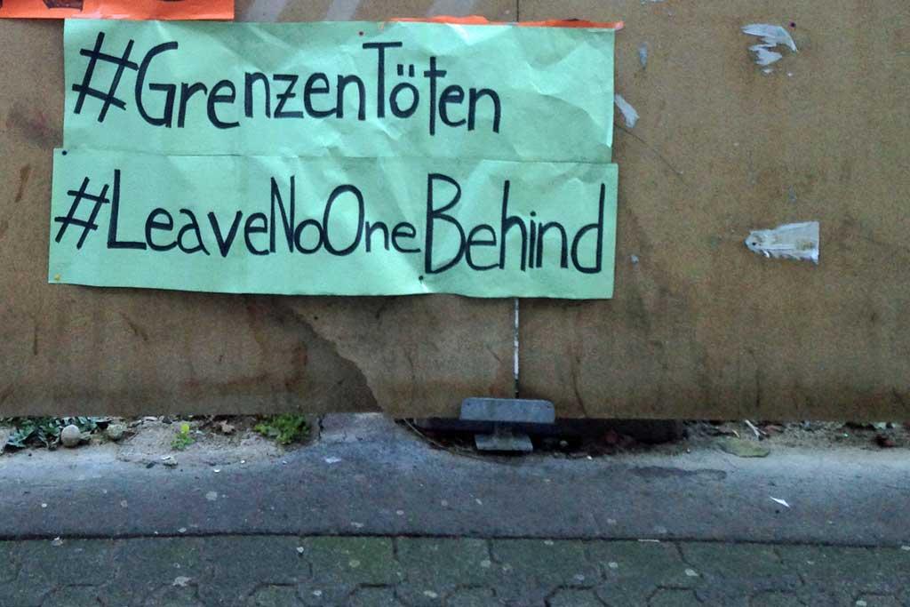Corona in Frankfurt - #leavenoonebehind