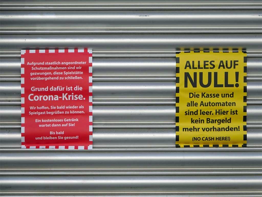 Corona in Frankfurt - Hier ist kein Bargeld mehr vorhanden