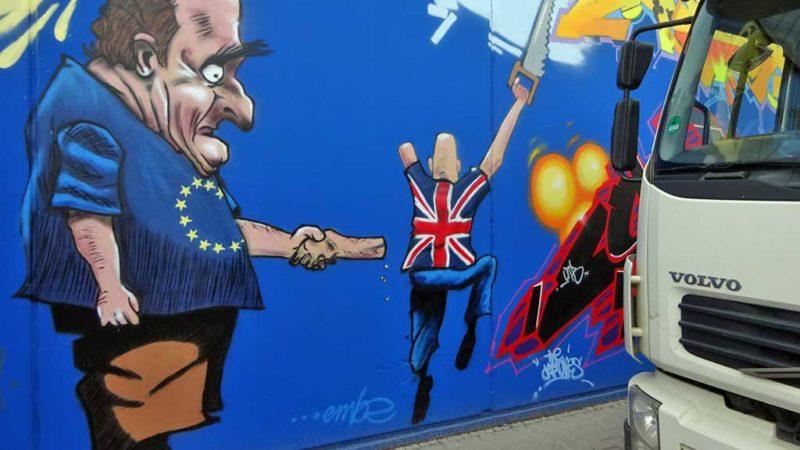 Brexit-Graffiti