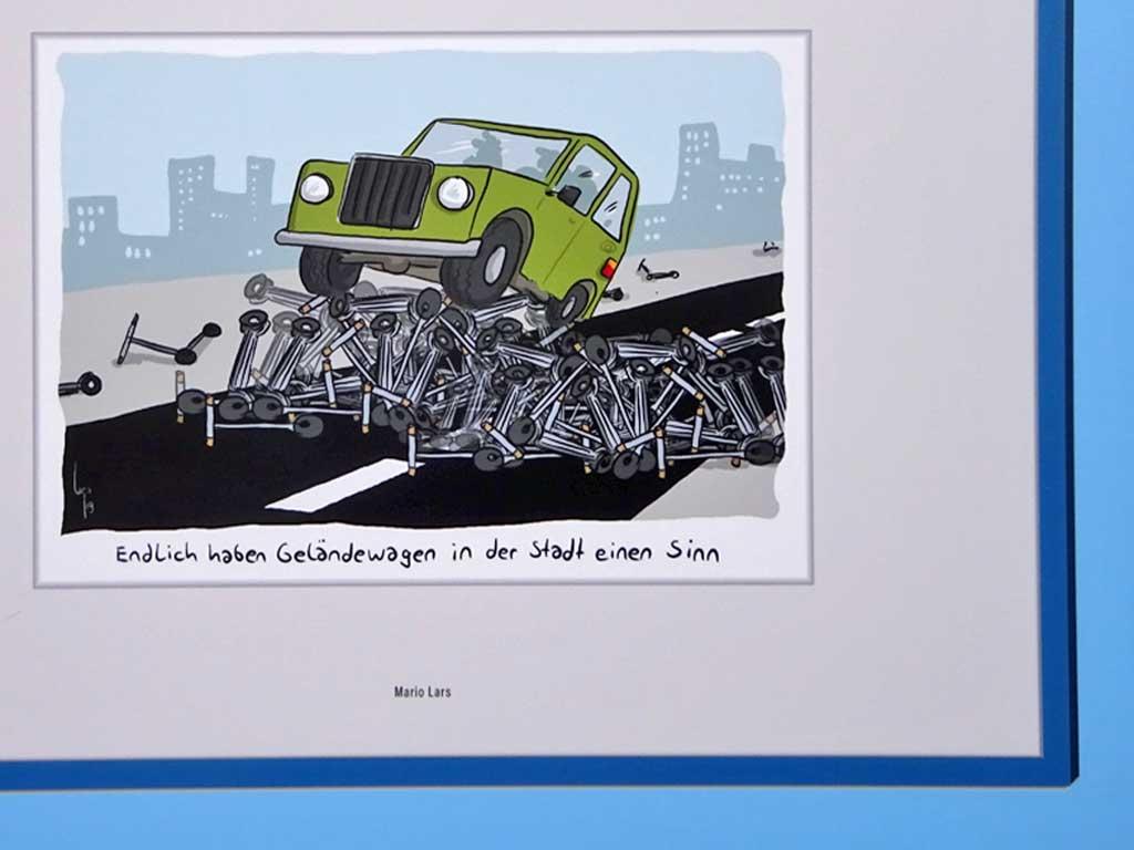 Deutscher Cartoonpreis 2019 - Bild von Mario Lars
