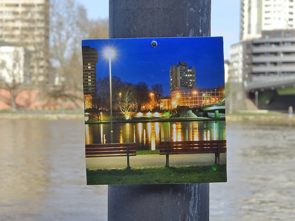 Die Augen auf - Streetart Action in Frankfurt
