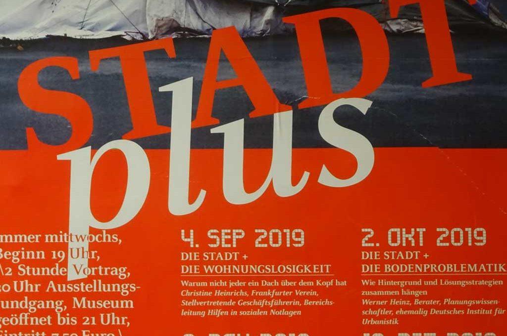 DIE STADT + STREET ART im Deutschen Architekturmuseum in Frankfurt