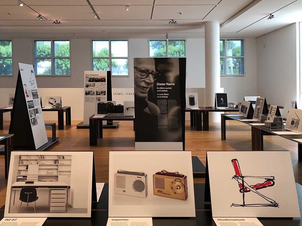 Dieter-Rams-Ausstllung im Museum Angewandte Kunst in Frankfurt