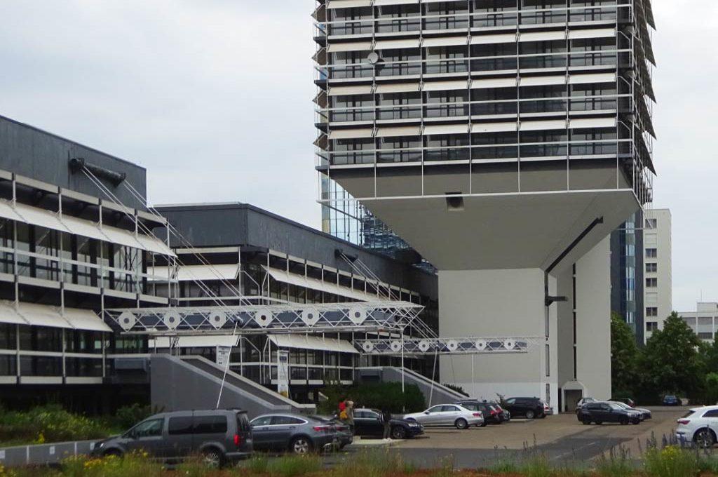 Egon Eiermann - Architektur in Frankfurt - Olivetti-Türme