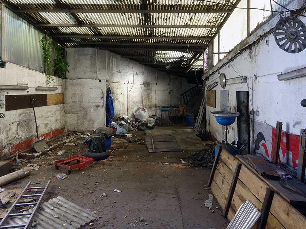 Ehemalige Kfz-Werkstatt im Ostend
