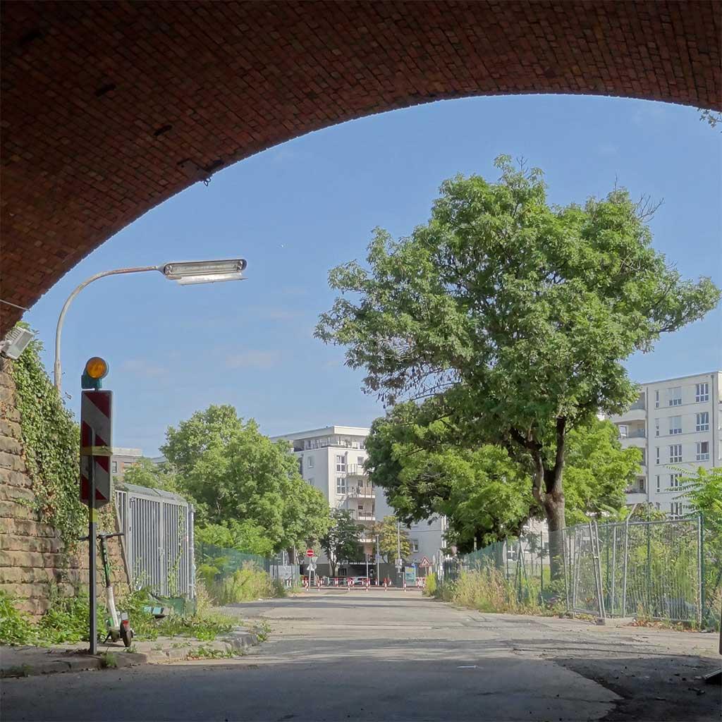 Ehemaliges Teves-Areal in Frankfurt