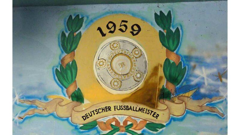 Eintracht Frankfurt - Deutscher Fußballmeister 1959