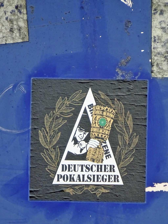 Binding Szene - Deutscher Pokalsieger Aufkleber