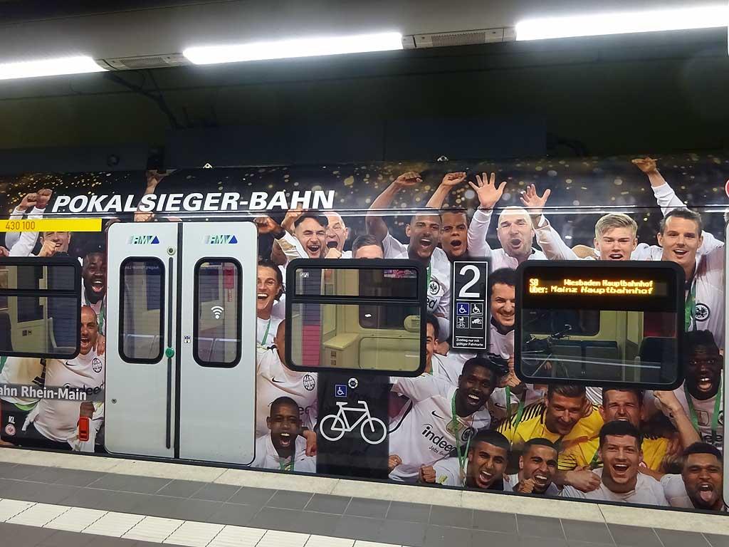 Pokalsieger S-Bahn des RMV