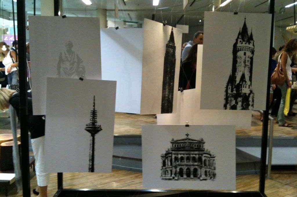 Eröffnung von Souvenir Frankfurt in der Zeilgalerie