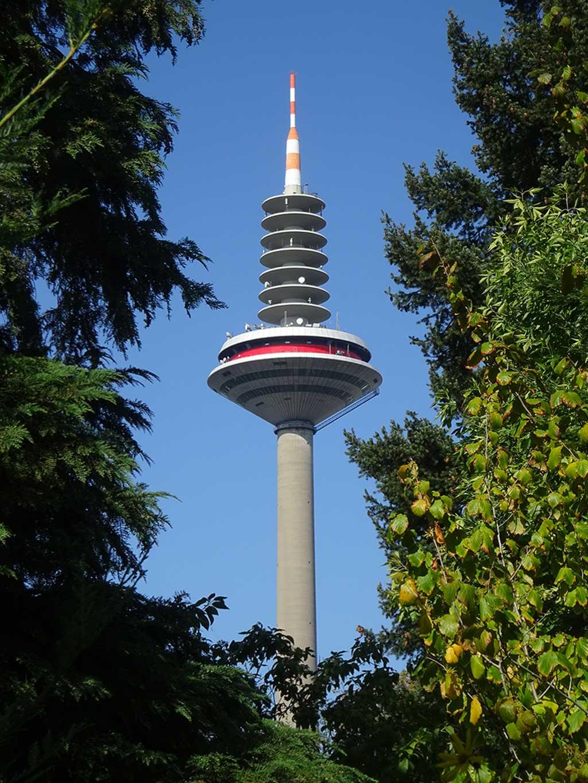 Architektur in FRankfurt - Europaturm