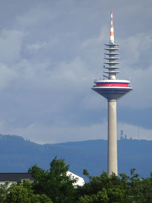 Europaturm in Frankfurt