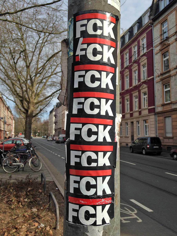 FCK FCK FCK