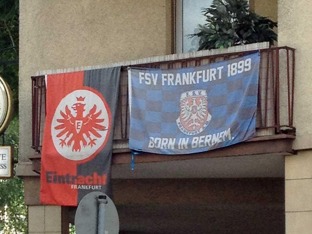 Eintracht Frankfurt und FSV Frankfurt