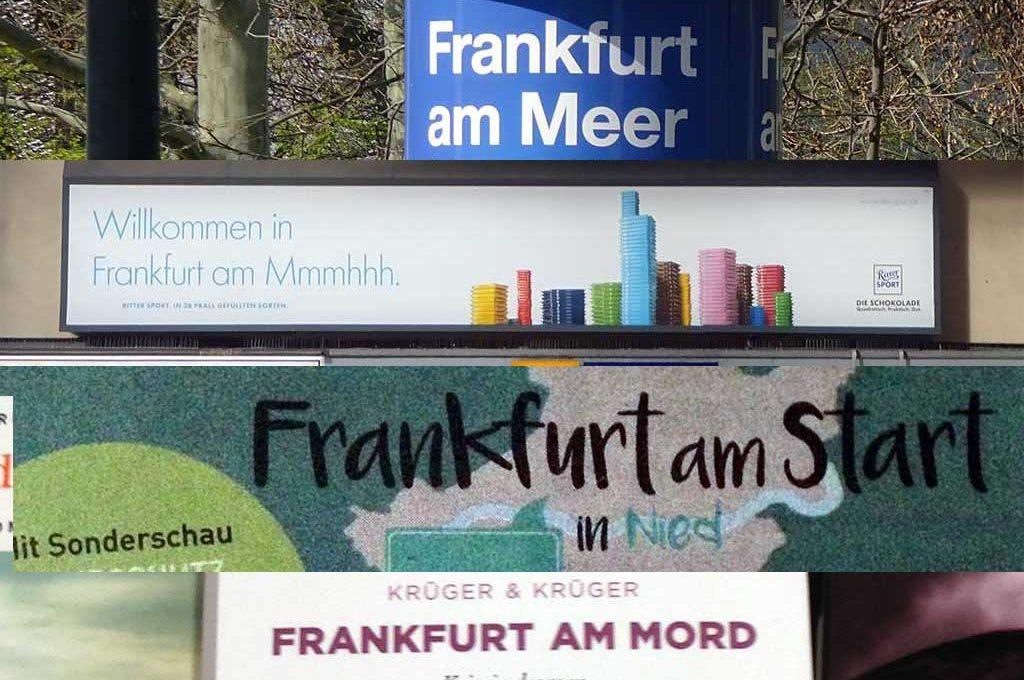 Frankfurt am Wortspiel