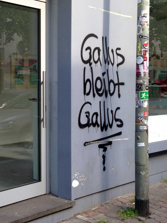 Gallus bleibt Gallus