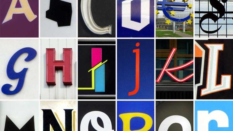Frankfurt in Buchstaben, von A bis Z