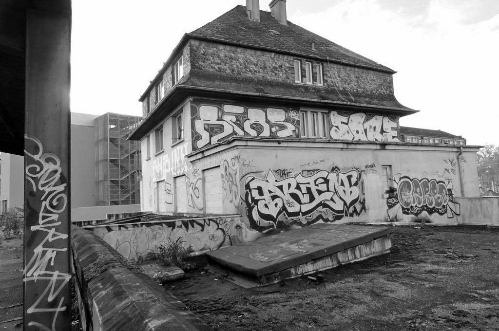 Lost Places in Frankfurt - Der Ostbahnhof